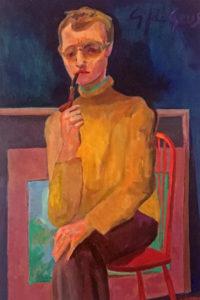 Ben Steijn, olieverf, ca 1965. Particuliere collectie